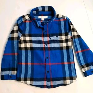Burberry boys button down size 3T.
